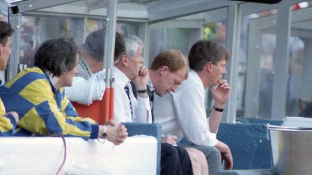 Gary Megson was in charge as Norwich lost 2-1 at Leeds in May 1995 Picture: Archant library