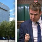 Tom Hunt, MP for Ipswich, has penned a letter to the housing minister about St Francis Tower
