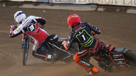 Witches guest Sam Masters chasing Steve Worrall in heat 10.