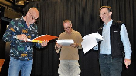 Rehearsals are under way forSheringham Little Theatre's