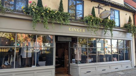 Ginger, Norwich