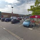 North Worle Shopping Centre.