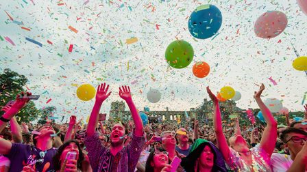 Flaming Lips - Hilltop Stage. Alexandra Palace. Saturday 21 July 2018.