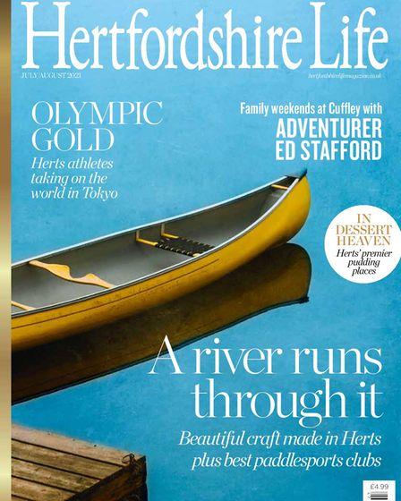 The latest edition of Hertfordshire Life.