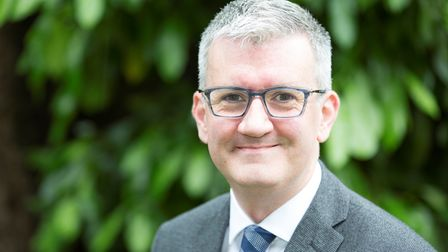 Matthew Trainer, the incoming chief executive at Queen's and King George Hospitals.