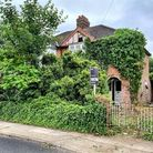 The overgrown property off Broke Hall development is ready for auction.