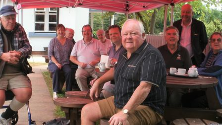 Cllr Steve Darling visits Willows Community Coffee Morning