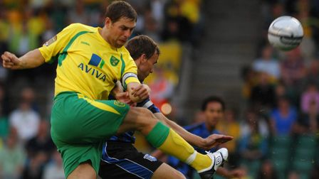 Grant Holt scored a brace in Norwich City's last game against Gillingham in 2010