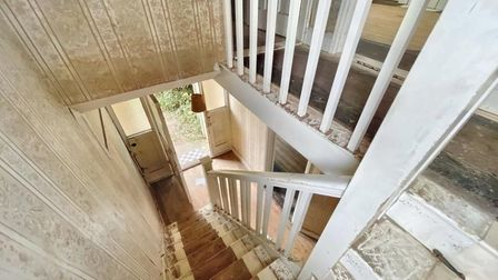 The old staircase.