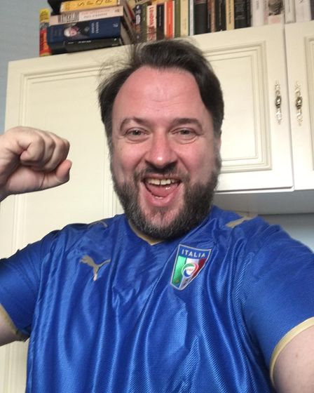 Cllr Gio Spinella is rooting for Italy in the Euro 2020 final vs England