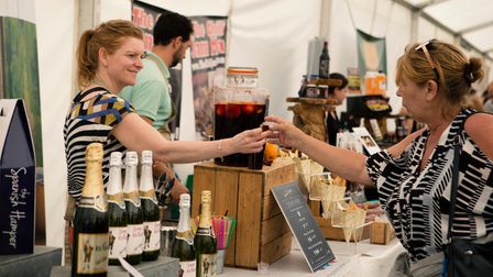 There will be plenty of food and drink at The Great British Food Festival coming to Knebworth Park.