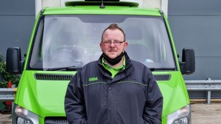 Tony Evans, an employee of Asda, has been nominated for an award for his efforts