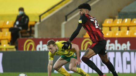Bournemouth's Philip Billing is a player of interest to Norwich City