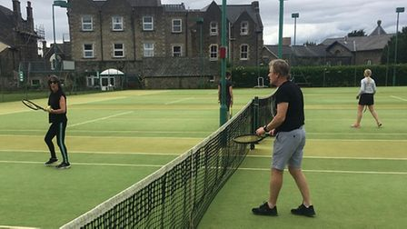 Clevedon Lawn Tennis Club launched their new beginners group at the weekend