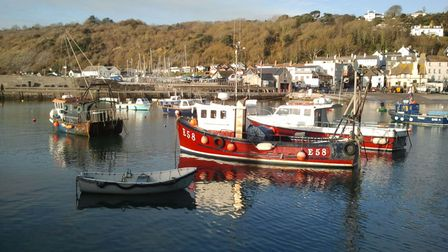 Hayley has no regrets about her move to Lyme Regis.