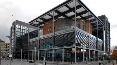 A general view of the Brent Civic Centre and Wembley Library in Wembley, London.