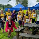 Axe Valley Runners at the Otter Rail & River Run