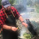 Ross Anderson teaches at The Outdoor Kitchen Collective.