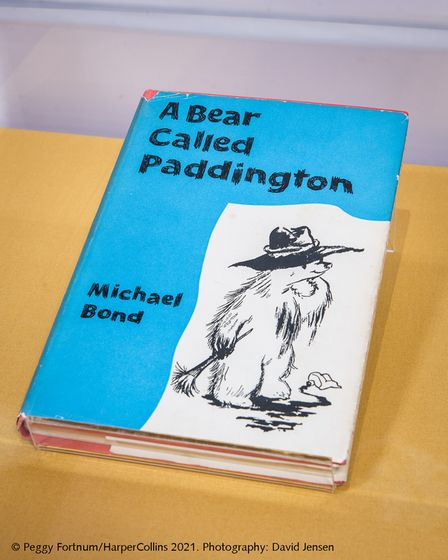 First edition of A Bear Called Paddington by Michael Bond given to his parents, HarperCollins Publishers in 1958,
