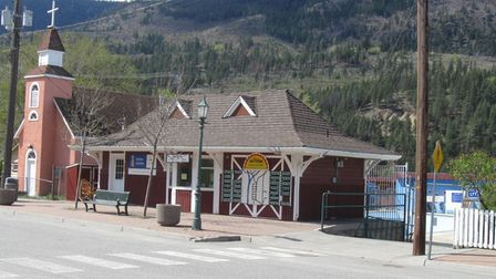 The museum at Lytton in British Columbia