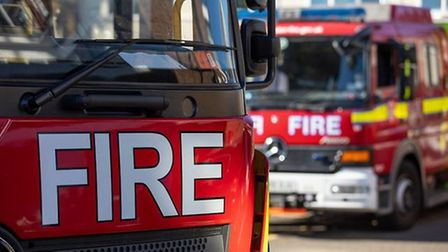 Fire in Manor Park