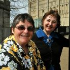 **photo sale** Rosemary Salt retiring as secretary of the Friends of Norwich Museums pictured at No