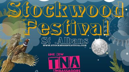 Stockwood Festival will take place in Jersey Farm, St Albans, on Saturday, August 7.