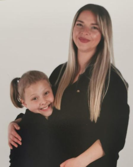 Megan George is looking for a salon to do a head shave for her daughter Isla, aged 8