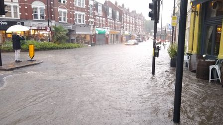 Flooding in Park Road