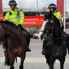 Police preparing for the Euro 2020 championship in Wembley Park