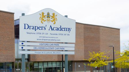 Drapers' Academy sign