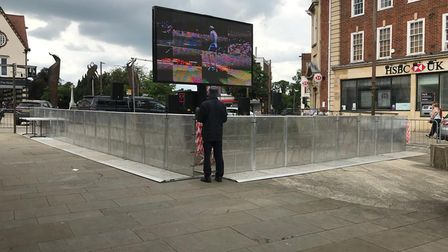 Free football screening letchworth town centre