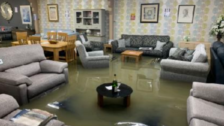 Floods inflicted£3.8mworth ofdamagein less than a dayto 20 businesses in St Ives