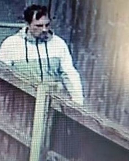 This is the man police want to question following a handbag theft in Wisbech