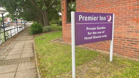 Neighbours of the Premier Inn on Norwich Riverside are fed up with antisocial behaviour in the hotel grounds