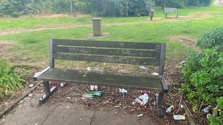 Neighbours say they are fed up with antisocial behaviour in the grounds