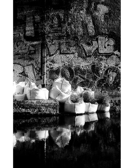 A scene from Regent's Canal, captured by Martha Elphick Wetherell