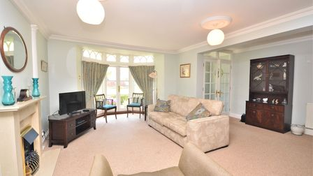 The 2 bed apartment is near the centre of Sidmouth