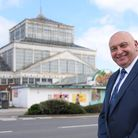 Great Yarmouth Borough Council leader, Carl Smith, by the Winter Gardens which has been awarded £10
