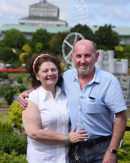 The Winter Gardens at Great Yarmouth has been awarded £10 million of lottery money. Frances and Fran