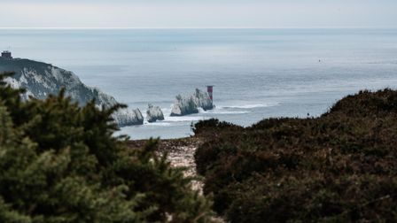 For an islander's view of The Needles, head to Patrick's secret spot