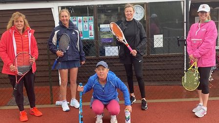Sidmouth tennis over 50s