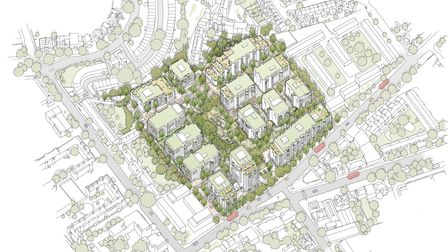 The masterplanning team for the Holloway Prison redevelopment is led by award-winning architects Allford Hall Monaghan Morris