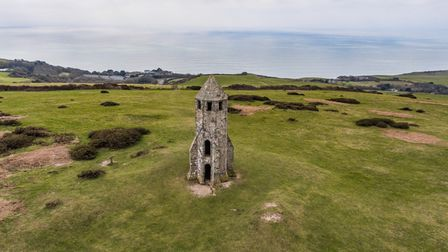 St Catherine's Oratory is known by locals as St Catherine's Pepper Pot
