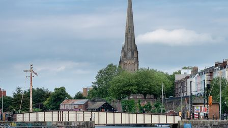 St Mary Redcliffe spire