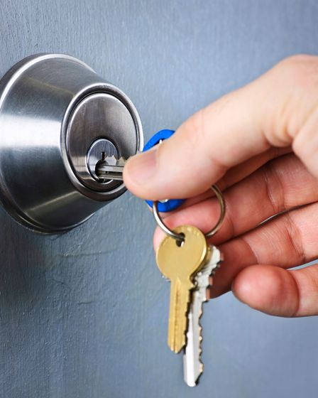 Make thieves' lives harder with secure door locks.