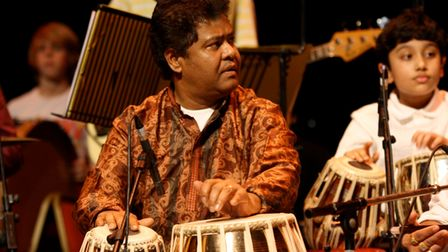 Yousuf Ali Khan a member of The Grand Union Orchestra which is launching a new community orchestra for Hoxton and Shoreditch