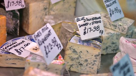 The Cheeseman stall on Norwich Market. Picture: ANTONY KELLY