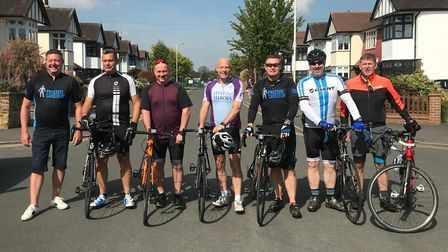 Steve Kavanagh and friends are cycling to Bournemouth for Prostate Cancer UK