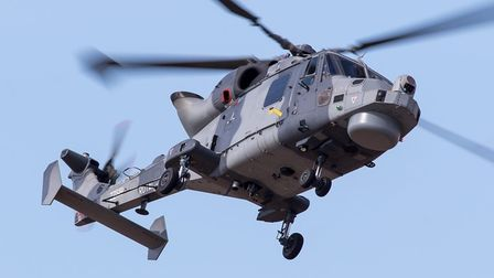 The Wildcat Lynx helicopter display teamwill be performing atthe show